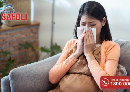 Bà bầu bị cảm cúm khi mang thai có nguy hiểm không?