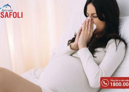 Bà bầu bị ốm phải làm sao để nhanh khỏe?