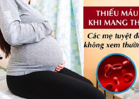 Bà Bầu bị Thiếu Máu – Mối Nguy Hại khi Mang Thai | Avisure Safoli