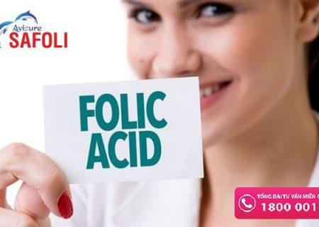 Thiếu hay thừa axit folic khi mang thai gây hậu quả gì?