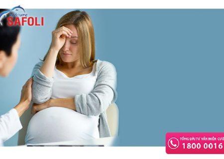 Chân tay bủn rủn, người mệt mỏi khi mang thai có nguy hiểm không?