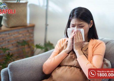 Bị cảm cúm trong 3 tháng đầu có nguy hiểm gì không?