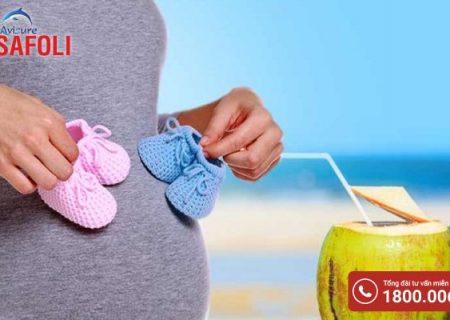 Tiểu đường thai kỳ có uống nước dừa được không?