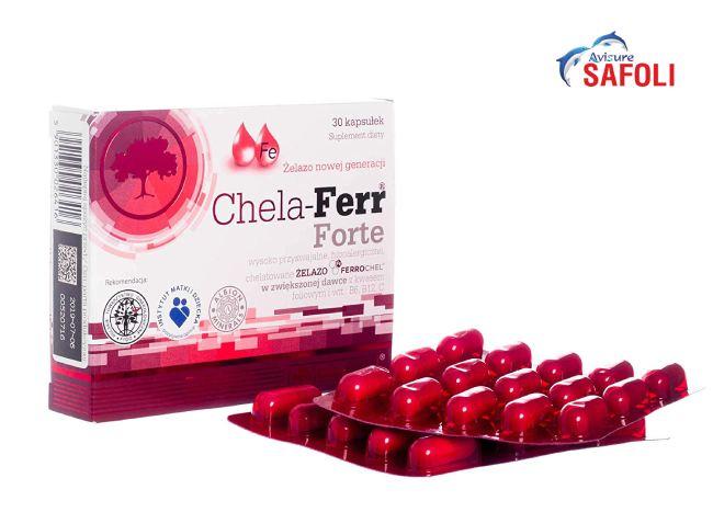 Mẹ bầu có thể lựa chọn Chela-Fer Forte để bổ sung sắt cho thai kì của mình