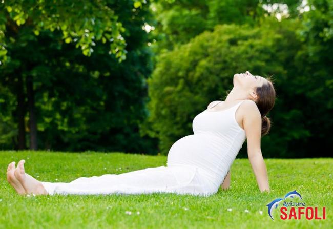 Mẹ bầu khỏe mạnh khi được cung cấp đủ sắt trong thai kỳ.