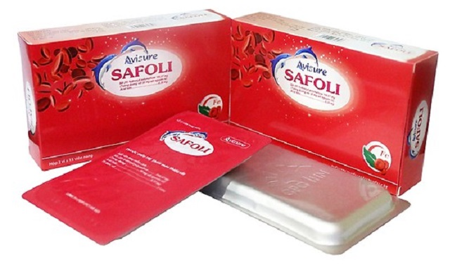 thuốc sắt safoli cho abf bầu