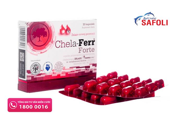 Thuốc sắt Chela-Ferr dành cho phụ nữ mang thai