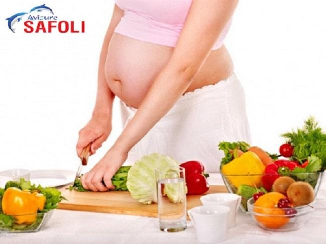 Bổ sung sắt qua chế độ ăn uống hợp lý