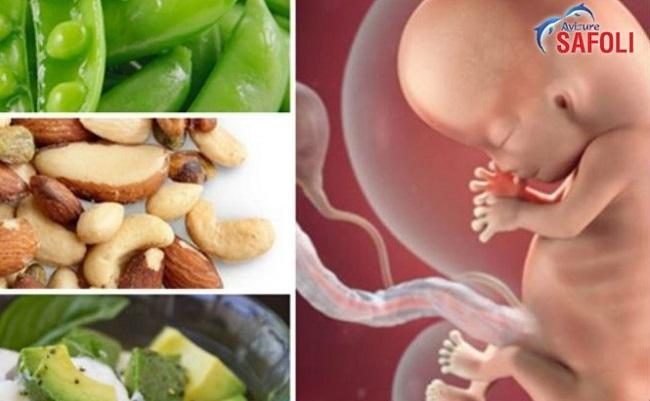 tầm quan trọng của axit folic với phụ nữ mang thai