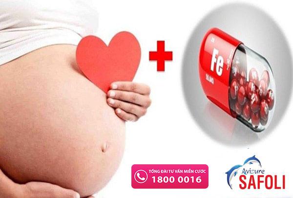 trước khi mang thai cần bổ sung sắt