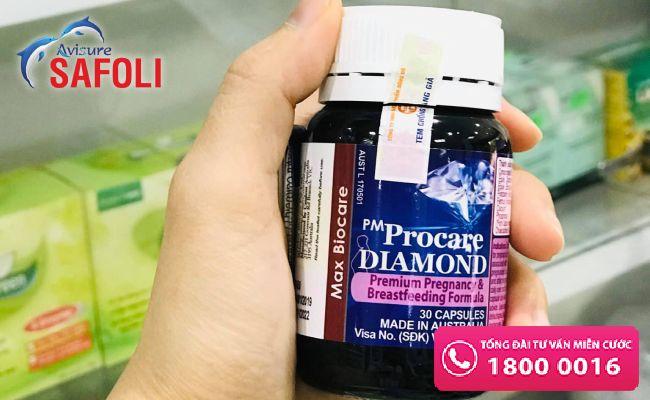 DHA cho mẹ bầu Procare Diamond