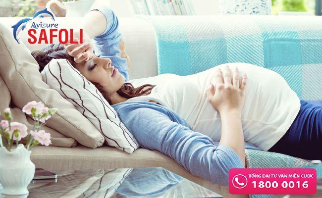 Thiếu máu thai kì gây dọa sinh non