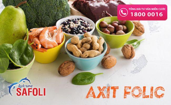 Bổ sung thực phẩm giàu acid folic gỉam thiếu máu ù tai