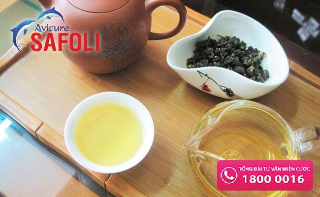 Không uống axit folic với trà làm giảm hấp thu
