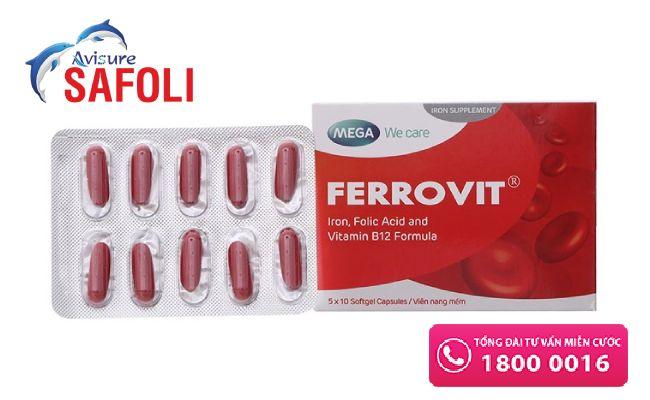 Thuốc sắt cho mẹ sau sinh Ferrovit