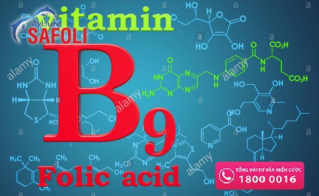 Thiếu vitamin B9 gây thiếu máu hồng cầu khổng lồ