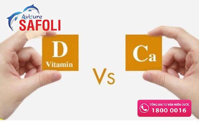 Thuốc bổ sung canxi và vitamin D