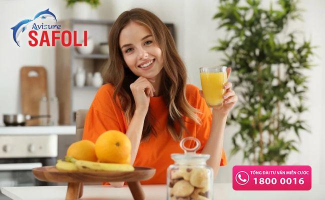 Uống sắt với vitamin C tăng hấp thu