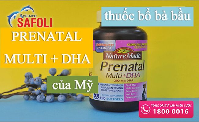Vitamin sắt tổng hợp cho mẹ bầu