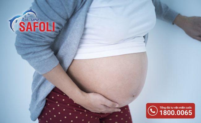 Mẹ bầu bị tiêu chảy có thể gây tăng co bóp tử cung