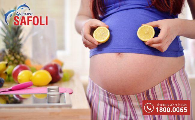 Bổ sung vitamin khi bầu bị ho