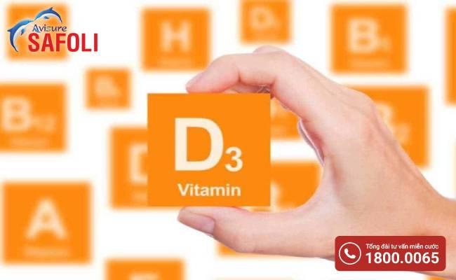 Sản phẩm canxi cho bà bầu nên bổ sung thêm vitamin D3